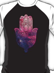 Pink and Purple Hamsa T-Shirt