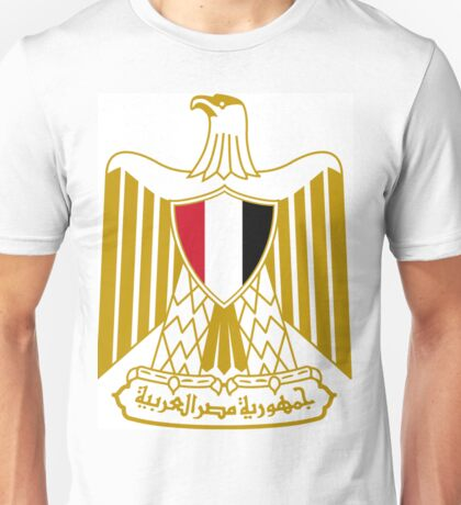Eygpt Coat of Arms Unisex T-Shirt