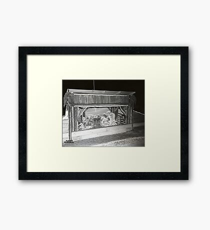 1948 MARCH, MERIT MANUFACTURING, MAYFIELD, KENTUCKY NO.1 Framed Print