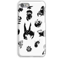 Pokemon Inks Set iPhone Case/Skin