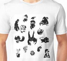 Pokemon Inks Set Unisex T-Shirt