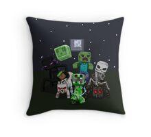 Best of minecraft Throw Pillow