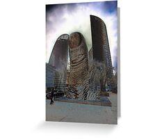 Thumbs Up @ La Defense, Paris, France 2012 Greeting Card
