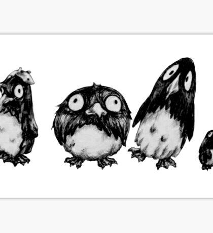Penguin parade Sticker