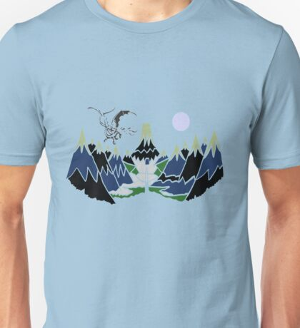 """ SMAUG "" Mountain  Unisex T-Shirt"