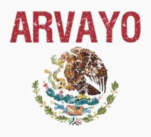Arvayo Surname Mexican Kids Clothes