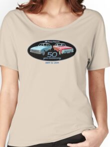 XM Falcon 50 year anniversary (black background) Women's Relaxed Fit T-Shirt