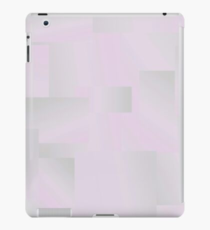 Lilac and Gray iPad Case/Skin