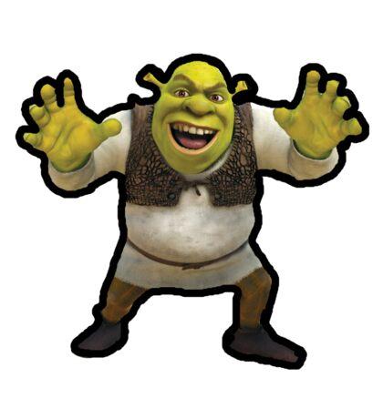 Shrek Screaming Sticker
