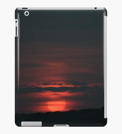 Red Ball Sun, Red Ball Sun iPad Case/Skin