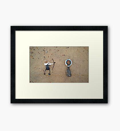 Archery Framed Print