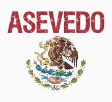 Asevedo Surname Mexican Kids Clothes