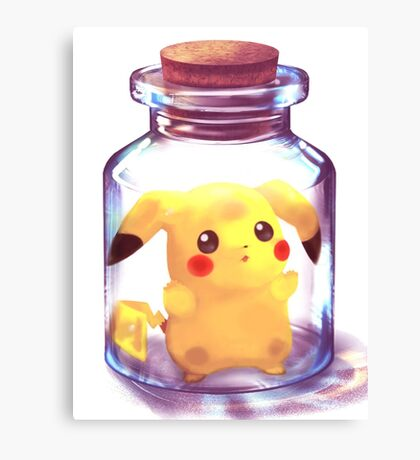 Pokemon Pikachu Canvas Print
