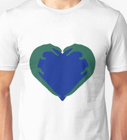 Gator Love Pattern Unisex T-Shirt