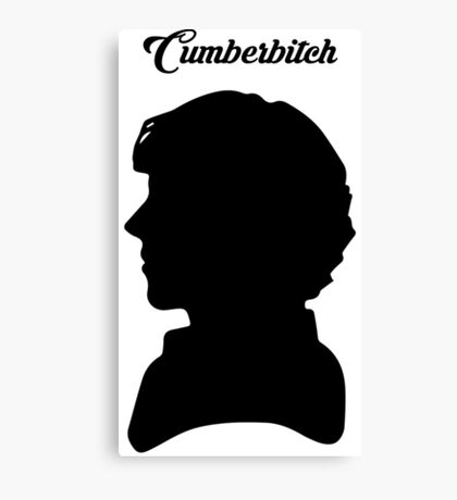 CUMBERBITCH - Sherlock TV Series/Benedict Cumberbatch Fan Canvas Print