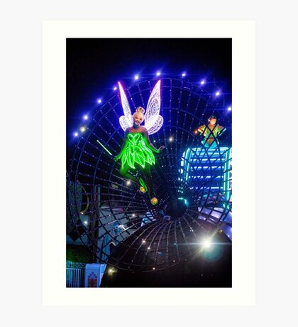 Paint the Night with Tink Art Print