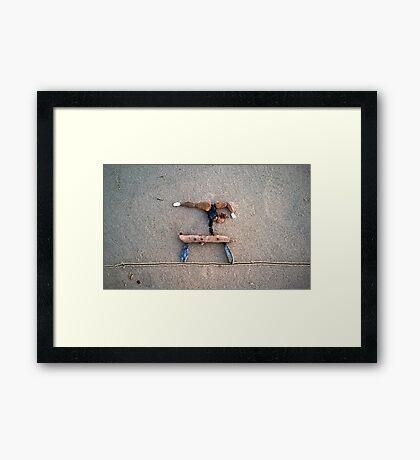 Balance Beam - Gymnastics II Framed Print