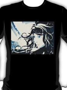 Winter girl background T-Shirt