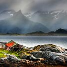 Abandoned Fisherman's Hut. Lofoten Islands. Norway. by photosecosse /barbara jones