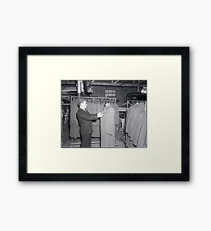 1948 MARCH, MERIT MANUFACTURING, MAYFIELD, KENTUCKY NO.9 Framed Print