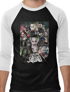 Suicide Squad Men's Baseball ¾ T-Shirt