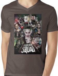 Suicide Squad Mens V-Neck T-Shirt