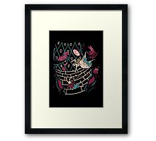 Follow the White Rabbit Framed Print