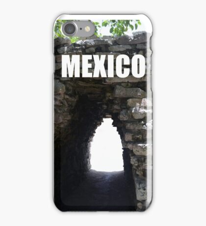 Mexico - Ancient Tunnel iPhone Case/Skin