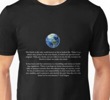 Peice of a Pale Blue Dot Unisex T-Shirt