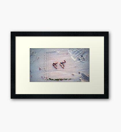 Dive! Framed Print