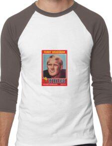 Terry Bradshaw NFL Rookie Card Men's Baseball ¾ T-Shirt