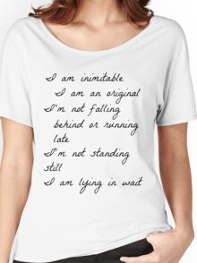 Wait For It Women's Relaxed Fit T-Shirt