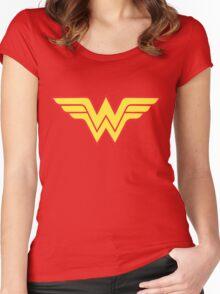 wonderwoman Women's Fitted Scoop T-Shirt