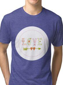 Valentine's Day | Love Tri-blend T-Shirt