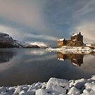 Eilean Donan Castle in Winter, Loch Duich, Scotland. by PhotosEcosse