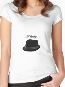 Fedora M'lady Women's Fitted Scoop T-Shirt