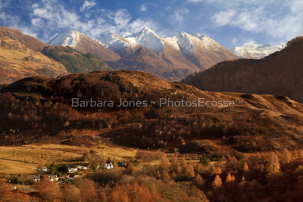 The Five Sisters of Kintail. North West Highlands of Scotland. by PhotosEcosse