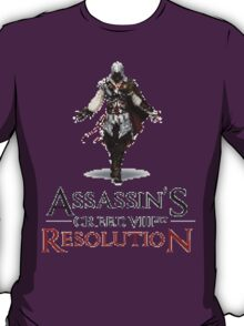 ASSASSIN'S CREED VIII BIT : RESOLUTION T-Shirt