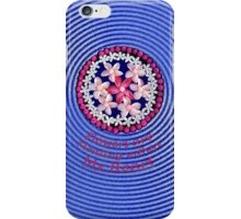 Flowers Floating Within My Heart iPhone Case/Skin