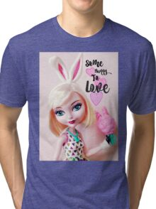 Some Bunny To Love Tri-blend T-Shirt