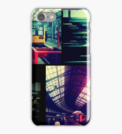 Trains Collage iPhone Case/Skin