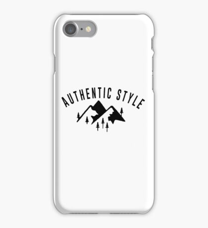 Authentic style! iPhone Case/Skin