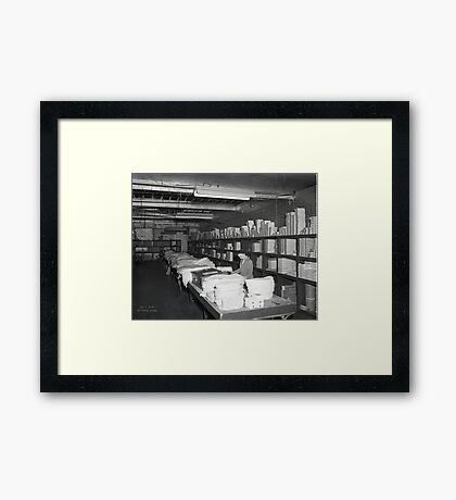 1948 MARCH, MERIT MANUFACTURING, MAYFIELD, KENTUCKY NO.21 Framed Print