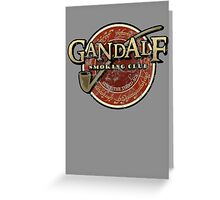 smoking club vintage Greeting Card