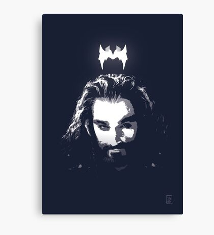 King Under the Mountain - Team Thorin Canvas Print