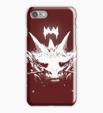 King Under the Mountain - Team Smaug iPhone Case/Skin