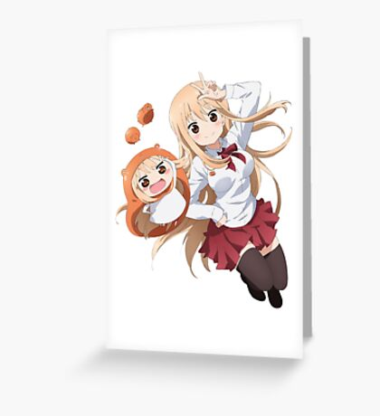 Umaru chan Greeting Card