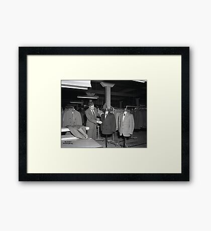 1948 MARCH, MERIT MANUFACTURING, MAYFIELD, KENTUCKY NO.24 Framed Print