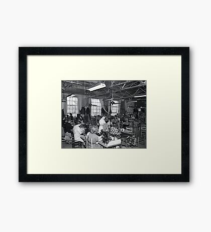 1948 MARCH, MERIT MANUFACTURING, MAYFIELD, KENTUCKY NO.26 Framed Print