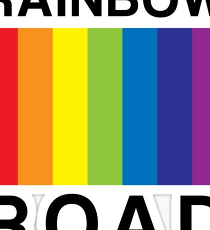 RAINBOW ROAD !!! Sticker